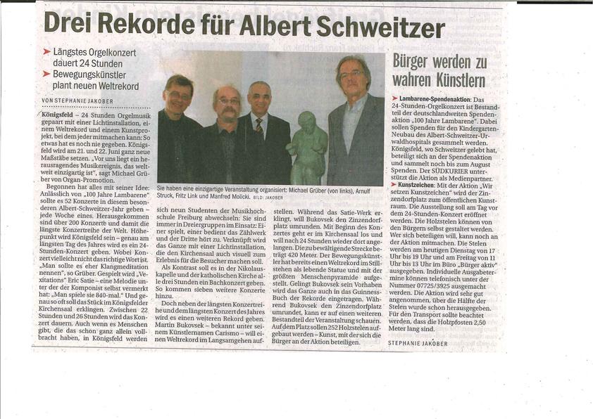 Südkurier 2013-05-09_Planung Satie