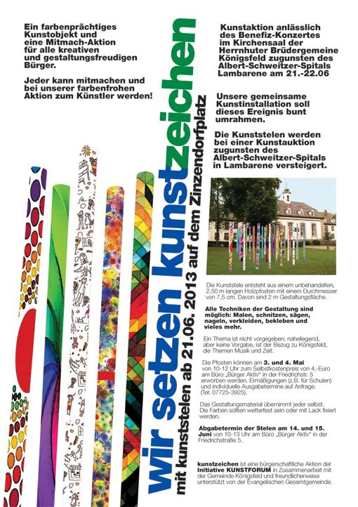 kunstzeichen-Plakat