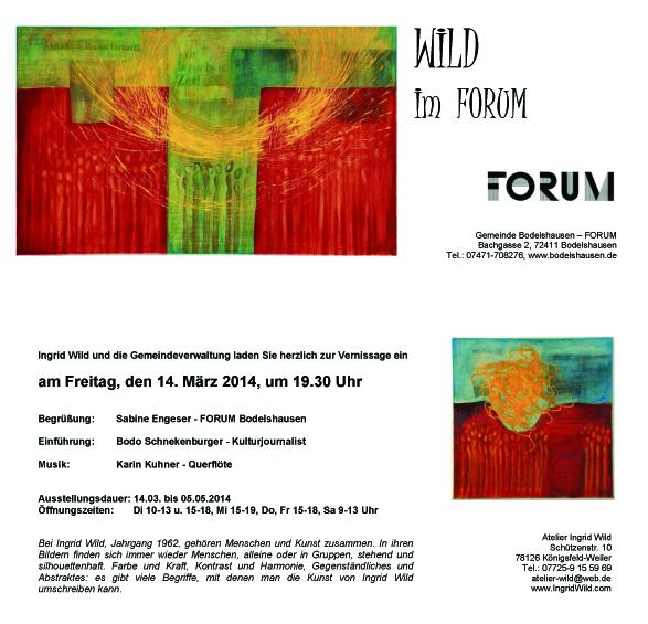 Wild-Einladung