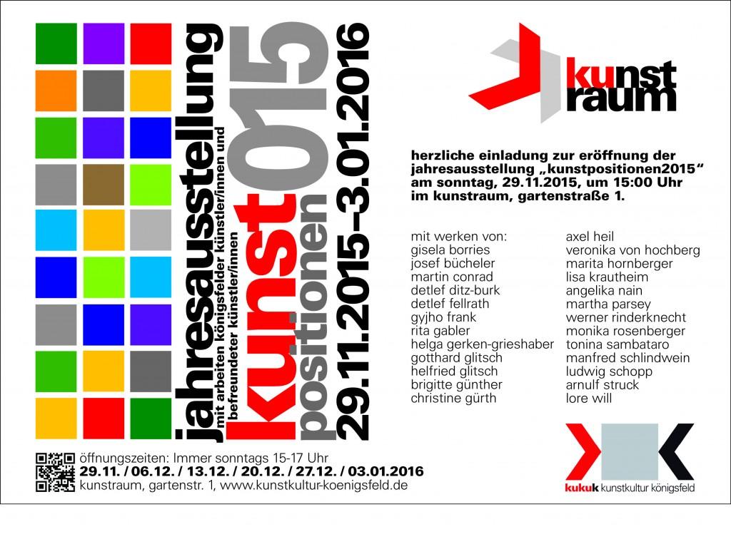 Einladung Jahresausstellung